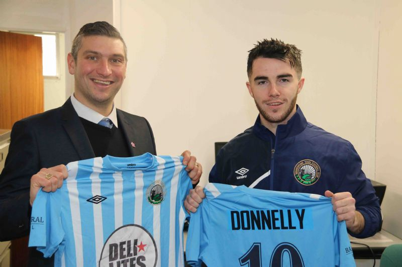 'Point make it a treble as Donnelly joins up