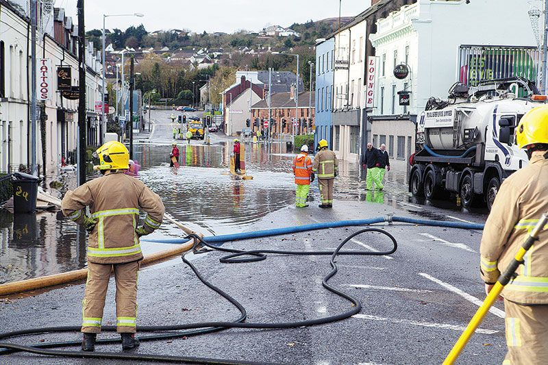Newry flood protection work needed