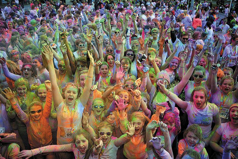 Colour Run to aid vulnerable kids in Africa