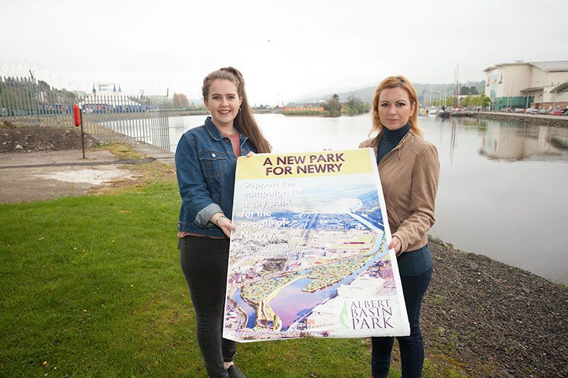 Youth to picket for Albert Basin Park