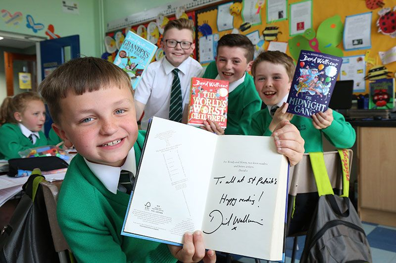 Pupils' parcel surprise as they gear up for BGT fate
