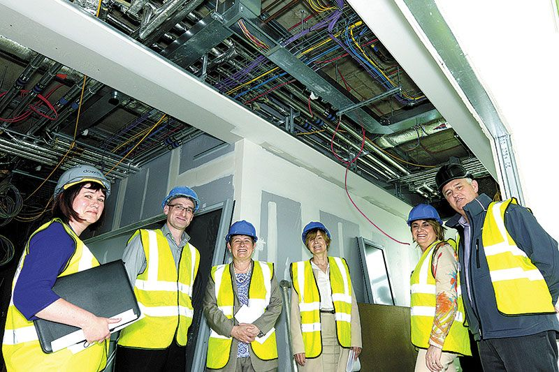 Paediatric unit construction now in final phase
