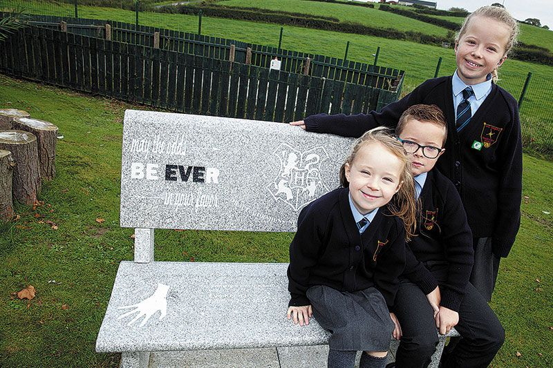 Drumilly PS reading garden dedicated to Eve's memory