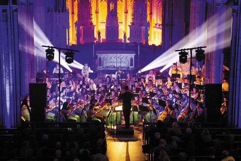 Cross Border Orchestra of Ireland play Newry Town Hall on St Patrick's night