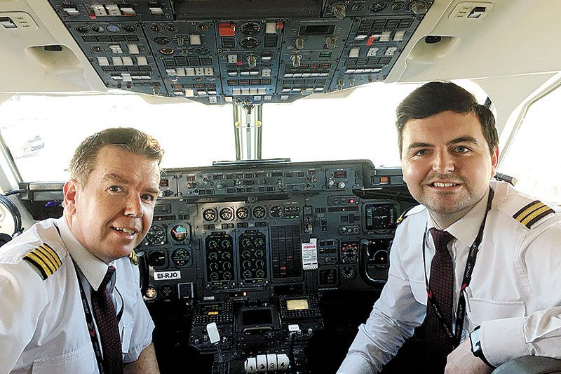 Newry pilots flying high