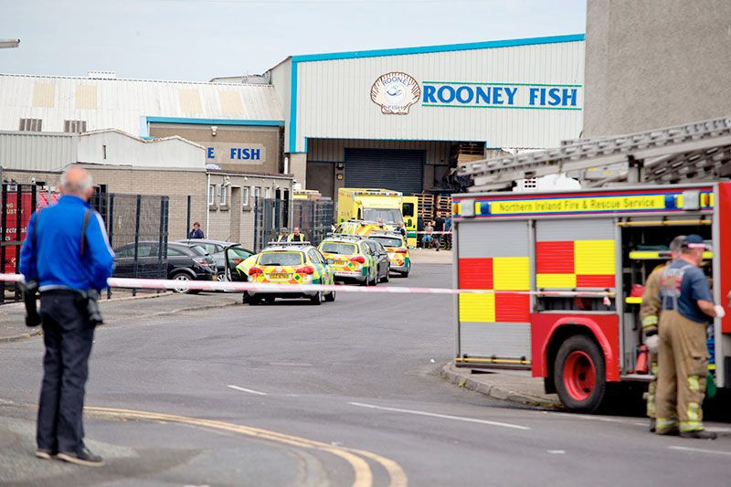 Kilkeel factory gas leak major incident