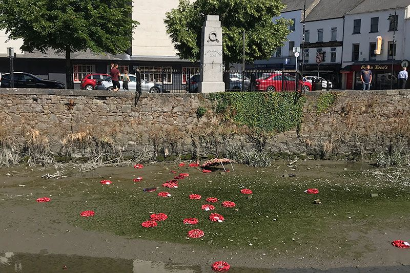 Poppy attackers have 'no understanding of bravery of 373 Newry people killed in wars'