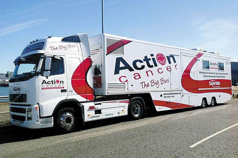 Action cancer 'Big Bus' to visit Newry