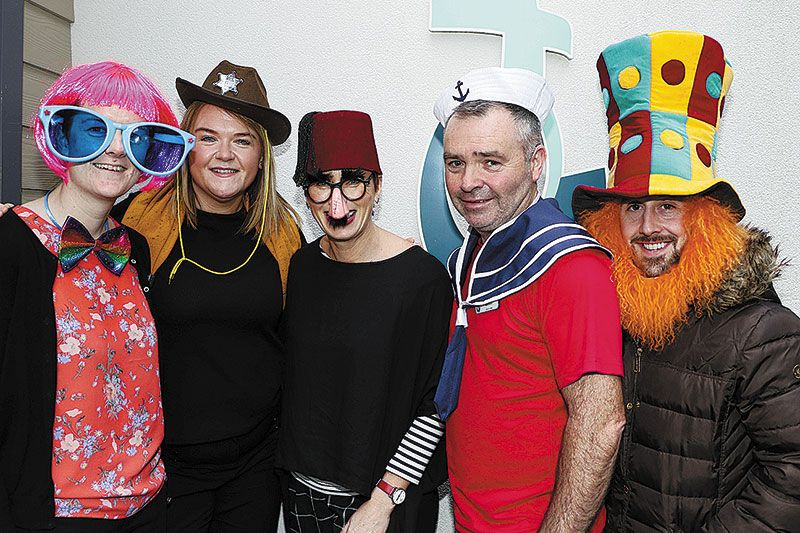 Fancy dress Party for the Hospice