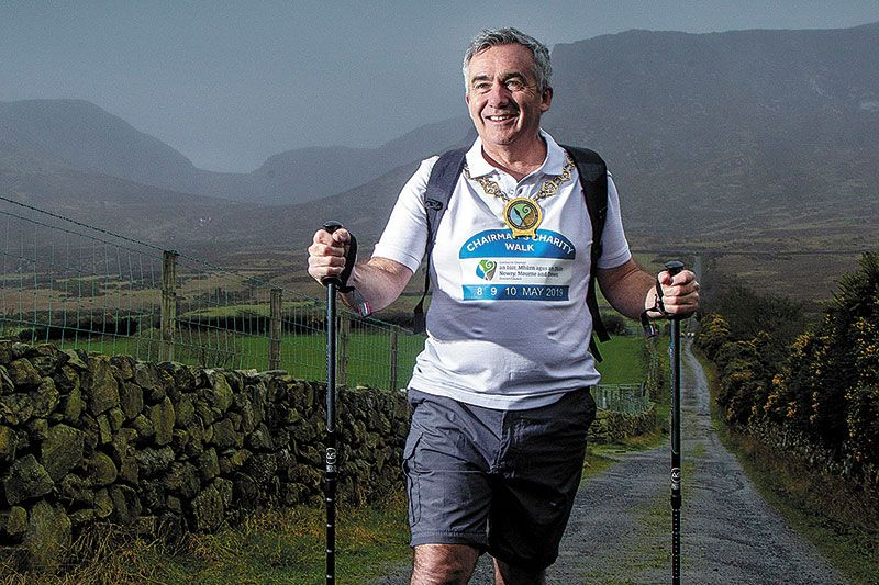Council Chairperson launches charity walk