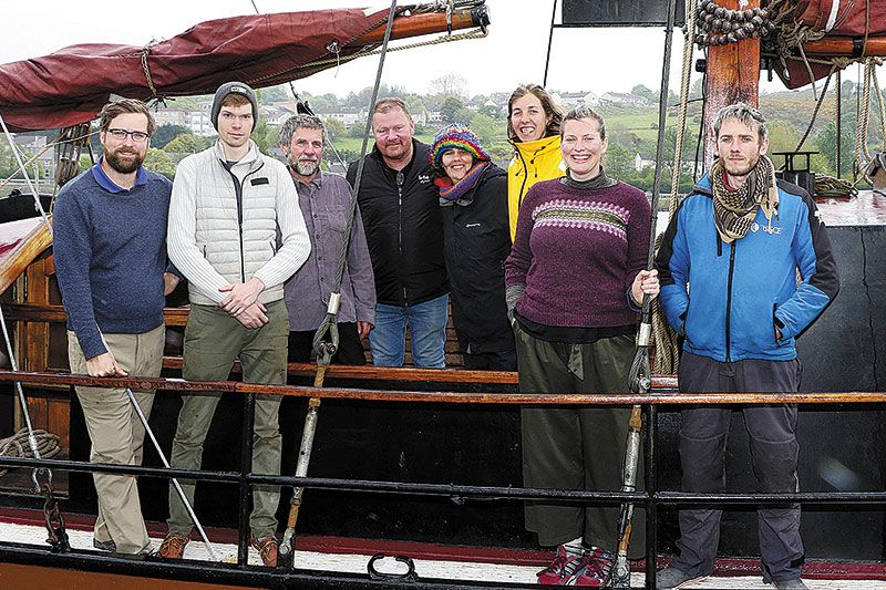 Charity calls for Council support as Tall Ship arrives in the Albert Basin