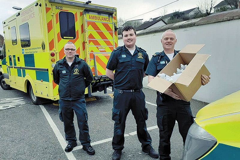 Big-hearted public dig deep to supply essential equipment to Daisy Hill staff