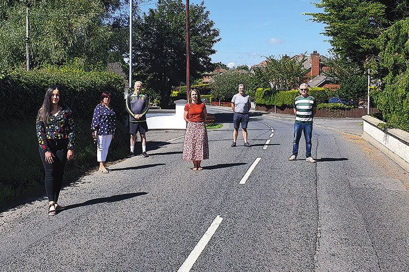 Residents' petition to slow down Crieve Road traffic