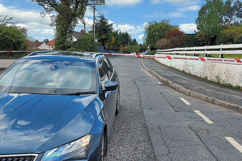 PSNI tight-lipped following third pipe bomb attack on Newry road