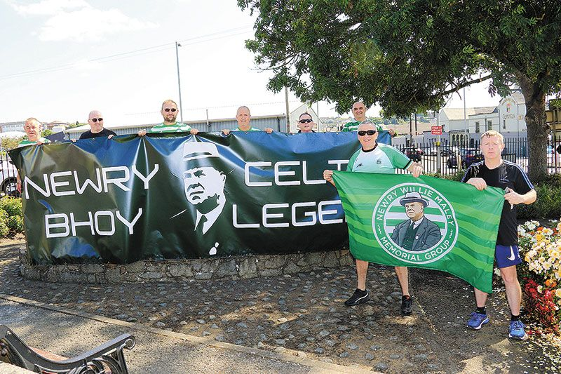It's green for go as site found for Maley statue