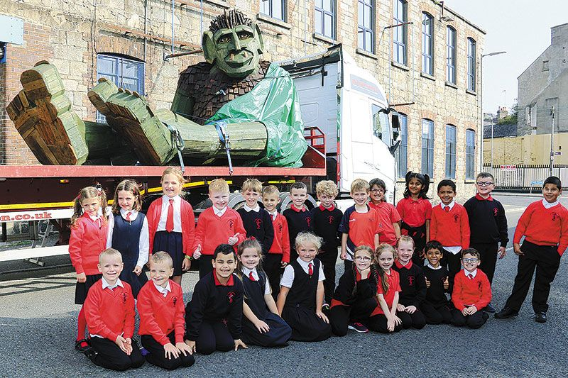 Newry's Sticky Fingers creates New Children's Art and Story Park in Donegal