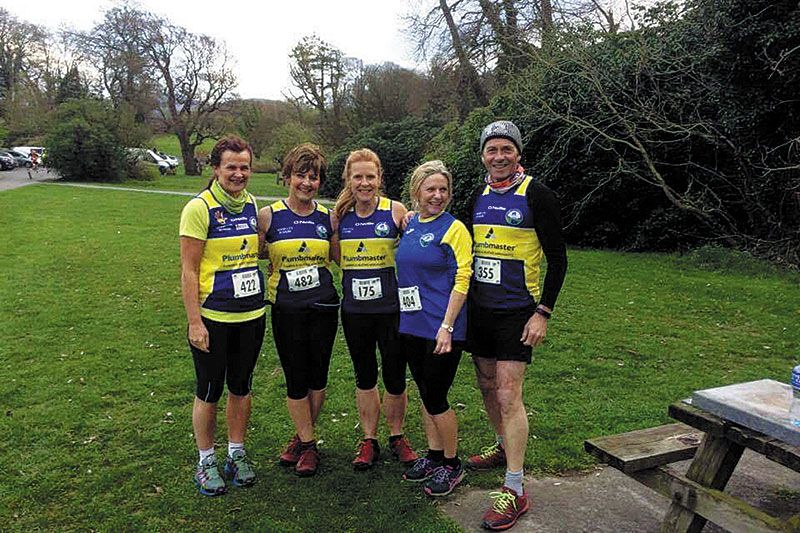 Newry City Runners take to the hills and dales