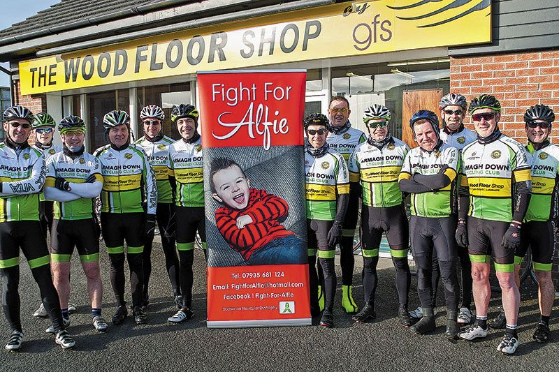 On your bike to help Alfie's fight