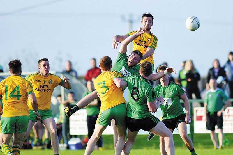 Harps edged out in tough battle