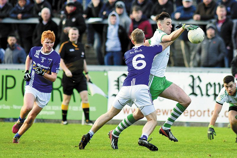 Burren pay the penalty for poor first half